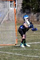 Girls 5th grade Lacrosse 04-07-2013