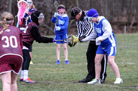Girls 5th grade Lacrosse 04-13-2013