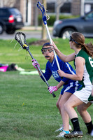 Girls Middle School Lacrosse 04-29-2013