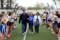 Bay Girls Lacrosse Senior Day