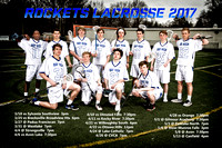 Boys and Girls Lacrosse Poster